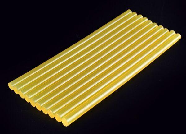 NEWACALOX-10pcs-lot-Yellow-Hot-Melt-Glue-Sticks-DIY-Tools-Gun-Alloy-Accessories-Car-Audio-Craft